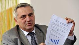 Současný šéf Úřadu pro ochranu hospodářské soutěže Petr Rafaj