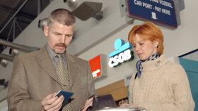 Generál Petr Pavel s manželkou Evou