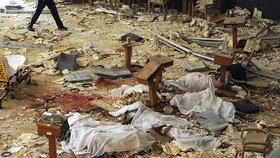 Podobný incident se odehrál nedávno i v Kuvajtu - Pumový atentátník u šíitské mešity svým odpálením zabil 27 lidí a přes 200 dalších zranil.