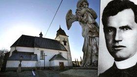 Umučený kněz Toufar se po 65 letech vrátil do Číhoště.