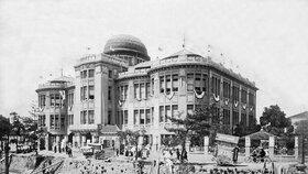 Průmyslový palác českého architekta, který jako jeden z mála domů přečkal atomový výbuch.