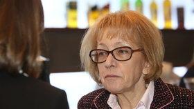 Bývalá ministryně spravedlnosti Helena Válková