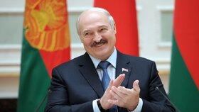 Lukašenka zpráva potěšila.