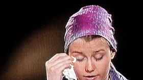 2006: Natascha pláče před televizními kamerami.