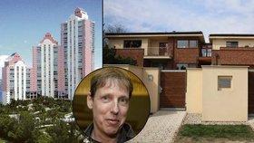 Obří vila u Prahy, luxusní auta, dovolené ve vlastním apartmánu na Floridě. To vše patří k jmění, které bývalý politik Gross vyčaroval z ničeho.