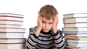 Škola někdy může děti velmi stresovat.