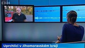 Michal Hašek se dohadoval v pořadu ČT24 s moderátorkou Zuzanou Tvarůžkovou o uprchlících