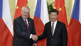 Zeman pozval čínského vůdce do Prahy.