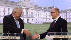 Podporu vládní novele už v červnu vyjádřil prezident Miloš Zeman.