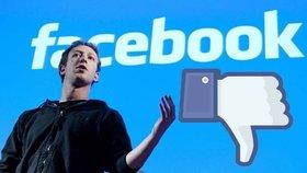 Nevhodné příspěvky bude Facebook mazat.