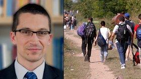 Politolog Stanislav Balík popisuje rizika uprchlické krize do budoucna.