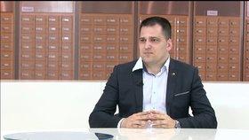 Europoslanec za KDU-ČSL Tomáš Zdechovský