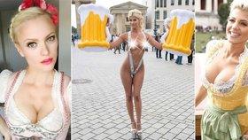 Oktoberfest se to jen hemží čičinami.