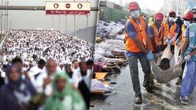 Při pouti do Mekky přišlo o život 769 lidí. Pravděpodobně vinou organizátorů