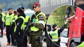 České hranice kontroluje při cvičení kolem 350 policistů a vojáků.