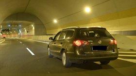 V tunelu Blanka došlo po třinácti dnech k první dopravní nehodě