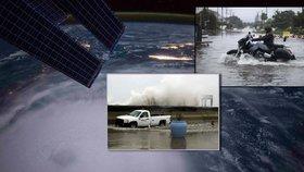 Hurikán Joaquin bičuje Bahamy a USA. Ztratila se loď s 33člennou posádkou