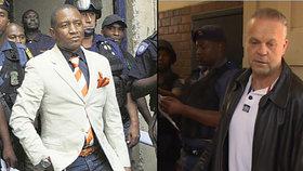 Krejčířův útěk z vězení naplánoval jihoafrický gangster William Mbatha.