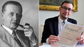 Zemanův mluvčí Ovčáček dál marně hledá článek o Ferdinandu Peroutkovi