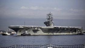 Lodě amerického námořnictva (Ilustrační foto)