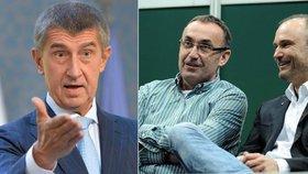 Andrej Babiš komentoval razii, při které policisté vyrazili i do domovů vlivného podnikatele Kyselého a exministra Langera