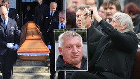 Osm trapasů na pohřbu Jiřího Krytináře