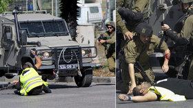Palestinský útočník, který pobodal izraelského vojáka, se vydával za novináře.