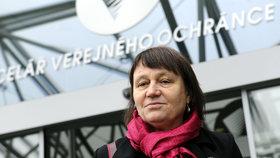 Ombudsmanka Anna Šabatová po nástupu do funkce