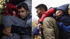 Čím dál víc trápí uprchlíky zima.