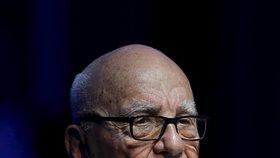 Mediální magnát Rupert Murdoch kvůli ohni přišel o vilu a vinici, stály ho 30 milionů dolarů.