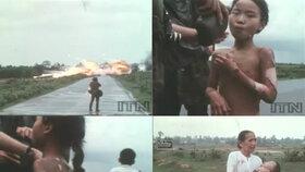 Záběry z filmu, který dokumentoval nesmyslné násilí rozpoutané mocnostmi v zájmu boje proti ideologickému nepříteli.