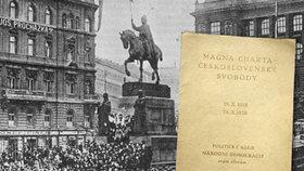 Unikátní listiny: První zákon Československa po válce