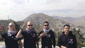 Daniel Landa v Afghánistánu