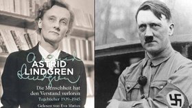 """Po celý zbytek života budu křičet """"Heil Hitler"""", napsala si Lindgrenová do deníčku."""