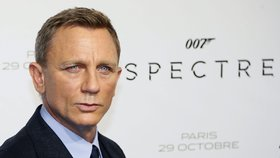 Daniel Craig v nové bondovce Spectre