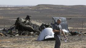 Nad Sinajským poloostrovem havarovalo ruské letadlo. Všech 224 lidí na palubě zahynulo.