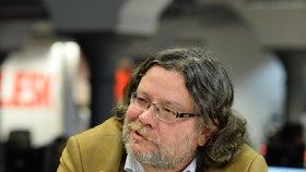 Exministr obrany a zahraničí Alexandr Vondra (ODS) ve Studiu Blesk