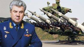 Generál přiznal, že Rusko má v Sýrii protileteckou obranu.