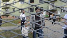 Uprchlíci v Bělé-Jezové
