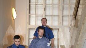Petr Kramný v pátek 6. 12. 2015 u ostravského soudu.