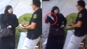 Palestinská útočnice napadla izraelského pracovníka ostrahy.