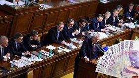 Sněmovna asi schválí návrh, který má od příštího roku zpomalit růst platů vrcholných politiků. (ilustrační foto)