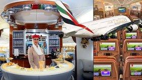 Letecká společnost Emirates vytvořila unikátní Airbus A380 pro rekordních 615 pasažérů.
