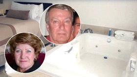 Charles a Dorothy zemřeli při sexu ve vířivce.