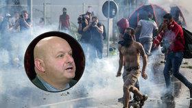 Vojenský analytik Jaroslav Štefec varoval před hrozbami spojenými s migrační krizí.