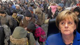 Paříž všechno mění. Němci chtějí zpřísnění liberální přistěhovalecké politiky Angely Merkel.