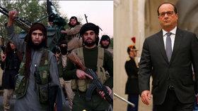 Francouzský prezident Hollande vyzval ke zničení Islámského státu.