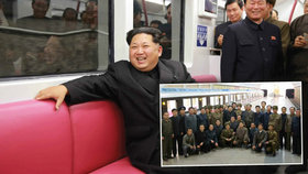 Kim Čong-un byl zkontrolovat nové metro a byl spokojen!