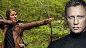 Katniss v kinech boduje.