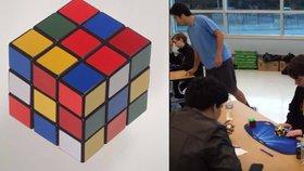 Teenager v USA zlomil světový rekord ve skládání Rubikovy kostky na čas. Povedlo se mu to už za 4,9 vteřiny.